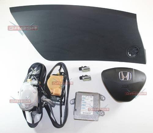 Kit Air Bag D Painel Bolsa Modulo Cinto Honda City 08 Á 011  - Gabisa Online Com Imp Exp de Peças Ltda - ME
