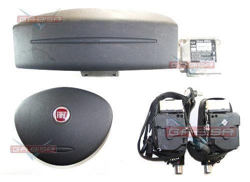 Kit Air Bag Duplo Bolsas Modulo Cintos Fiat Doblo 2012  - Gabisa Online Com Imp Exp de Peças Ltda - ME