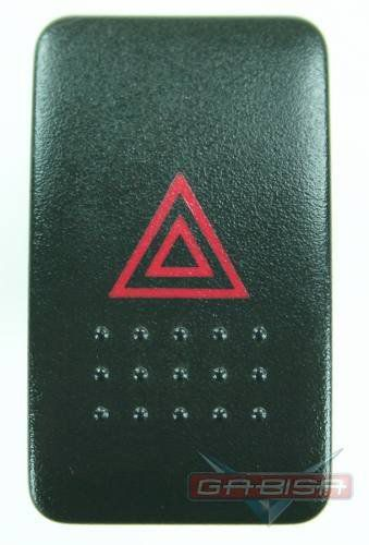 Botão D Pisca Honda Civic 01 05 Alerta Do Painel  - Gabisa Online Com Imp Exp de Peças Ltda - ME