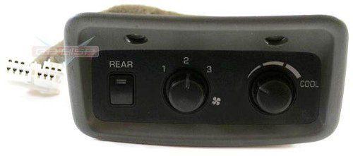 Comando Ar Condicionado Traseiro Console P Pajero Full 01 06  - Gabisa Online Com Imp Exp de Peças Ltda - ME