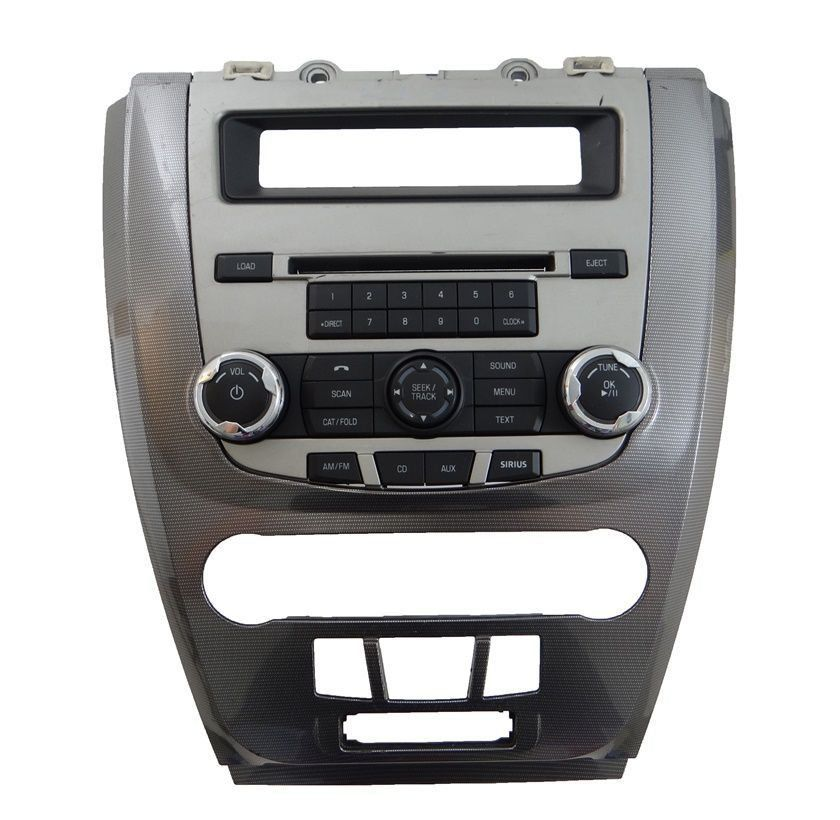Ford Fusion 010 012 Moldura Central Radio D Painel Cinza  - Gabisa Online Com Imp Exp de Peças Ltda - ME