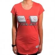 Camiseta  Ctrl+C  Jesus Fem.