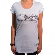 Camiseta Duas Coroas Feminina - #REINODEPONTACABEÇA