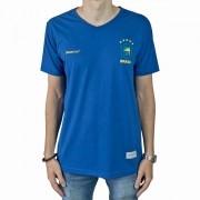 Camiseta Jesuscopy Brasil - Azul