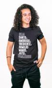 Camiseta Seja Santo & Amoroso Unissex