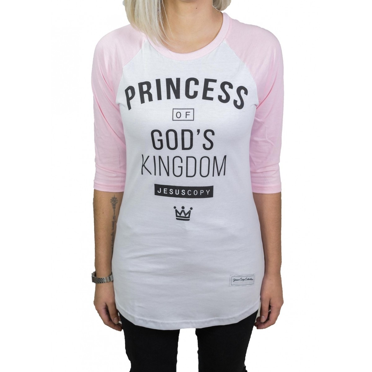 Camiseta Princess Fem.  - Jesuscopy