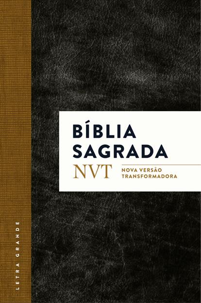 BÍblia NVT - Clássica com Letra GRANDE  - Jesuscopy