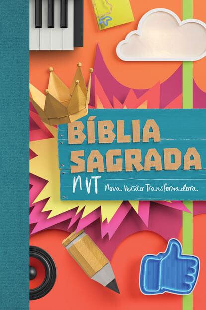 Bíblia NVT - Colagem   - Jesuscopy