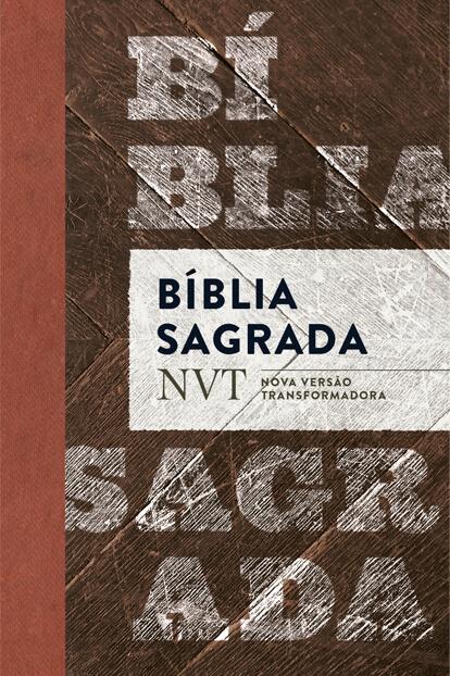 BÍblia NVT - Madeira  - Jesuscopy