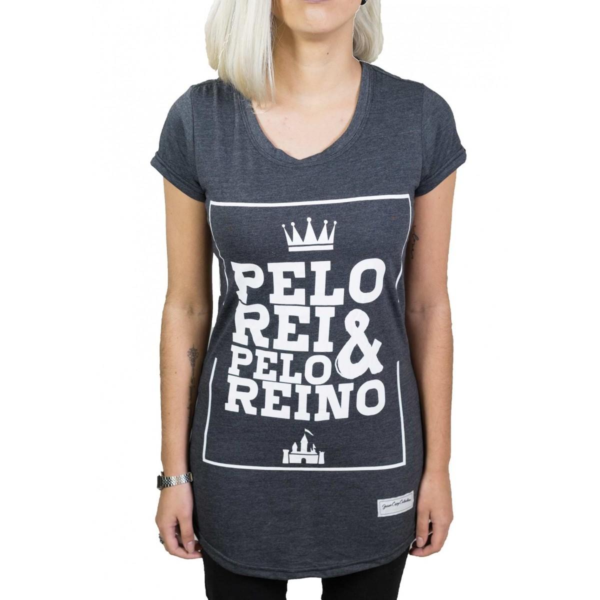 Camiseta Pelo Rei e Pelo Reino Fem.  - Jesuscopy