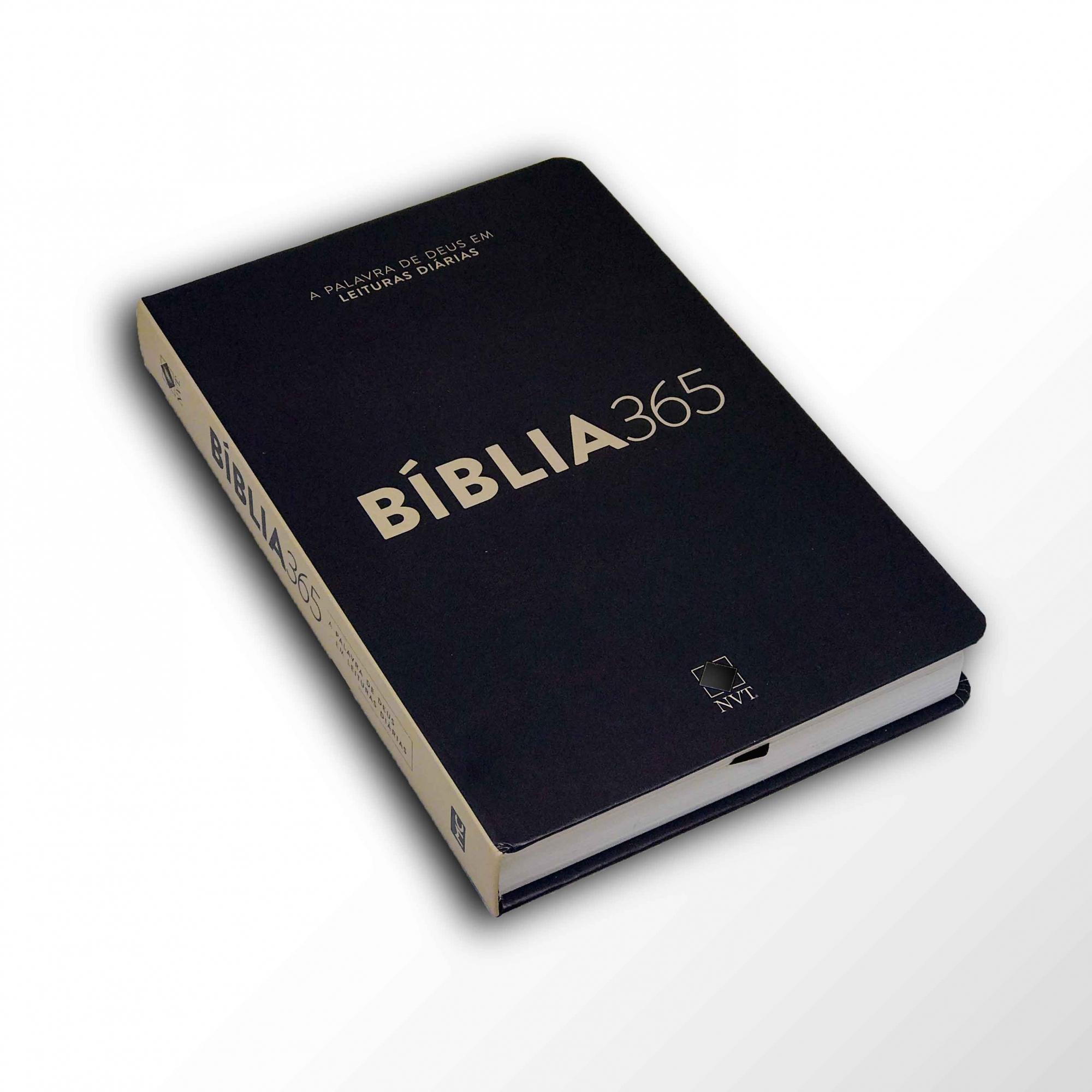 Bíblia 365 NVT - Capa Clássica