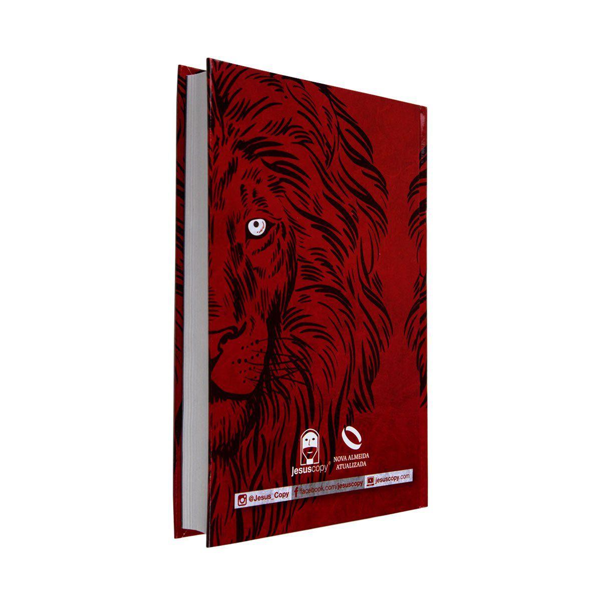Bíblia Leão Vermelho - NAA  - Jesuscopy