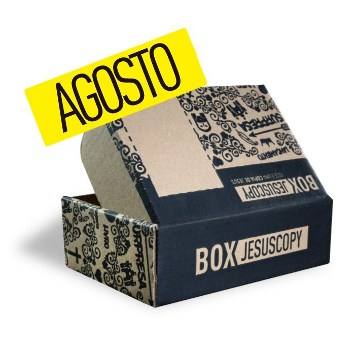 Box dos meses anteriores - AGOSTO 2017  - Jesuscopy