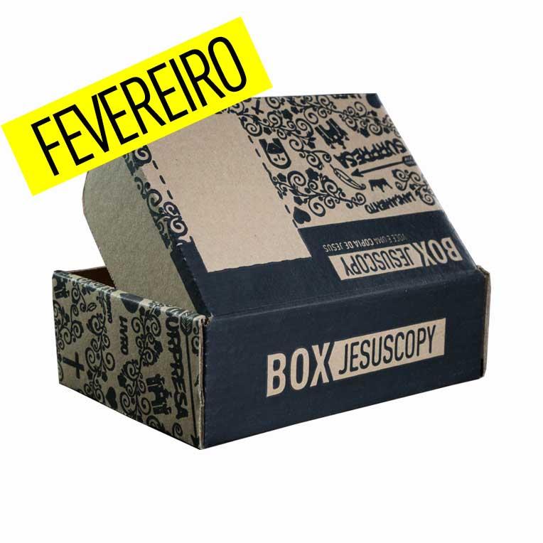 Box dos meses anteriores - FEVEREIRO  - Jesuscopy