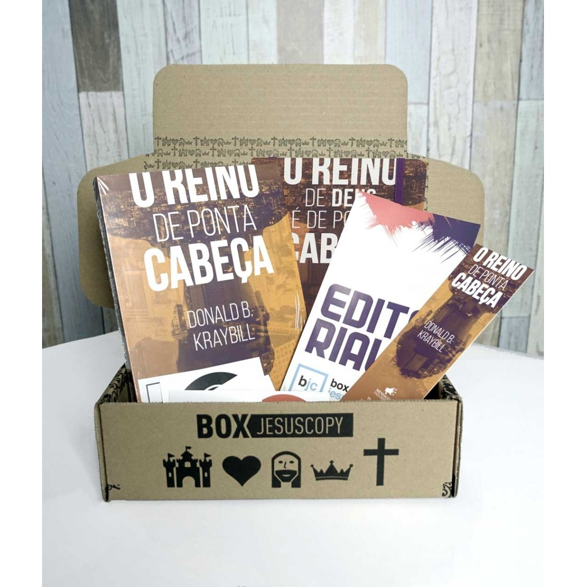 Box dos meses anteriores - JULHO  - Jesuscopy