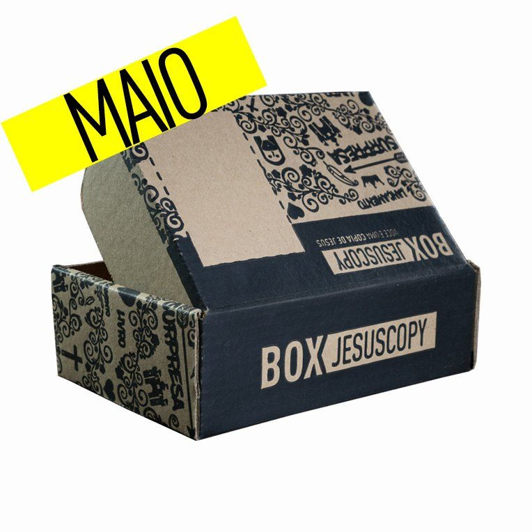 Box dos meses anteriores - Maio  - Jesuscopy