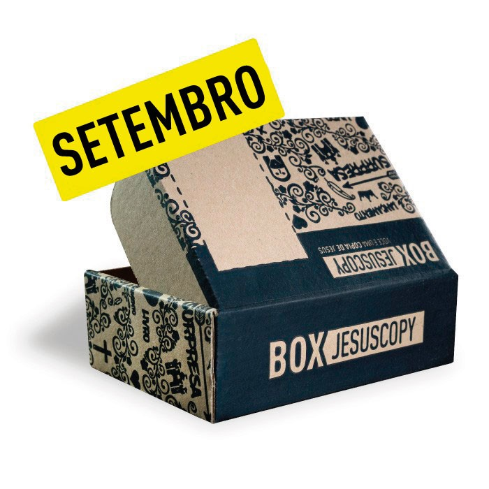 Box dos meses anteriores - Setembro  - Jesuscopy