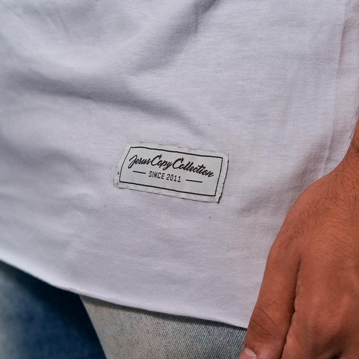 Camiseta Duas Coroas Masculina - #REINODEPONTACABEÇA  - Jesuscopy