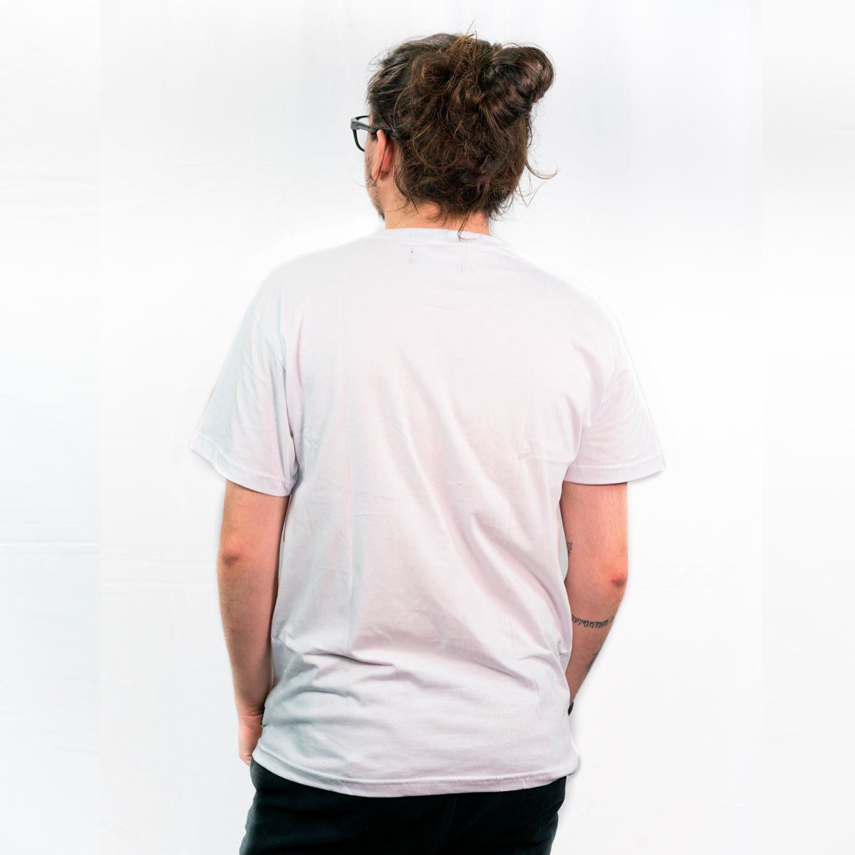 Camiseta Eh Nois  Branca Masc.   - Jesuscopy