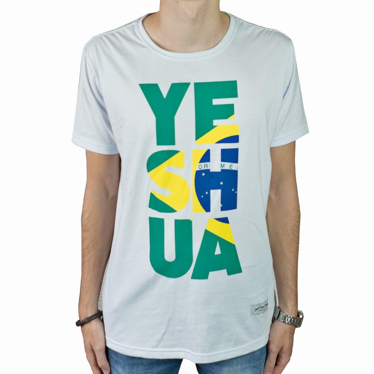 Camiseta Yeshua Brasil - Masculina  - Jesuscopy