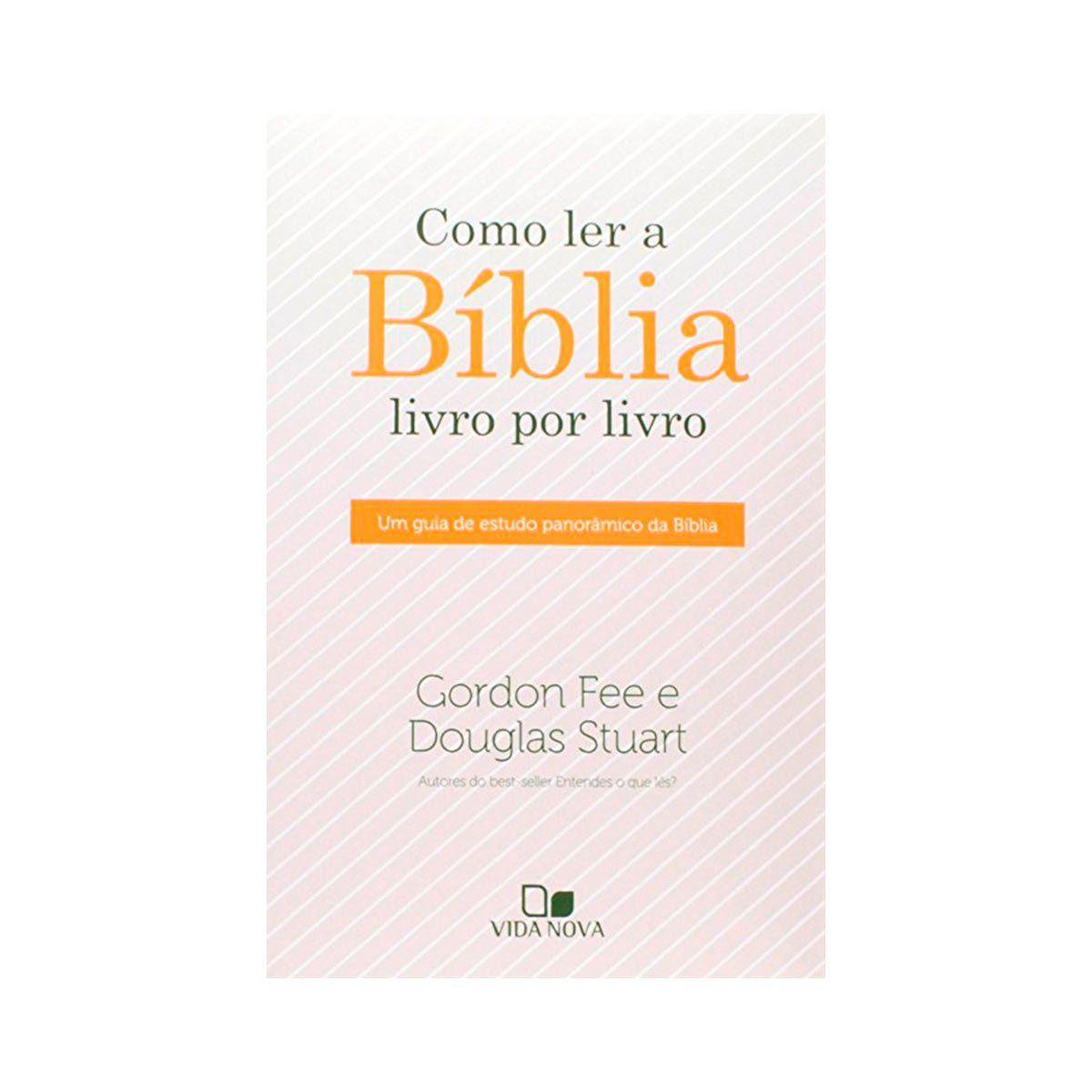 Como ler a Bíblia Livro por Livro   - Jesuscopy
