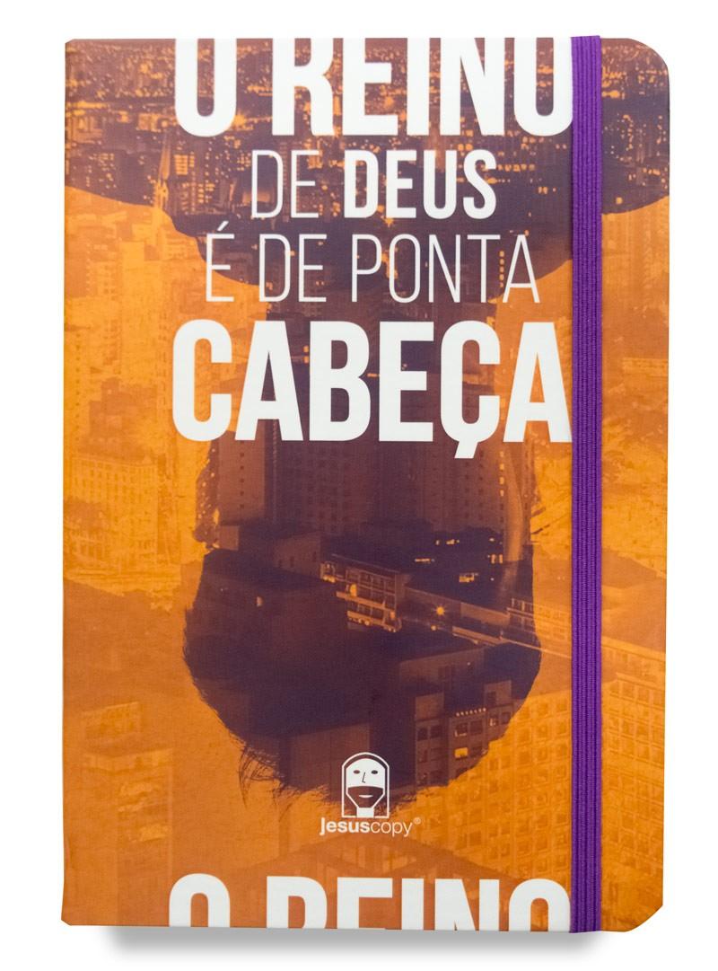 Caderno Moleskine Reino de Ponta Cabeça   - Jesuscopy