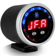 Voltímetro Automotivo Jfa Bat Meter 12V Digital Display Vermelho