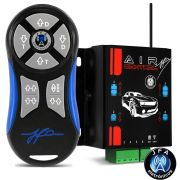Controle Longa Distância JFA Para Suspensão a ar Air Control Azul