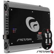 Módulo Amplificador Stetsom 3k3 4000w Rms + Controle Sx2 Preto 1 ohms