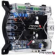 Mini Módulo Amplificador Stetsom Vs250.2 250w Rms Rca 2 Ohms