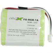 Bateria para Telefone sem Fio com 3 AA 3,6V 1000MAH FX-HGB-1A FLEX