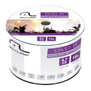 Midia DVD-R Multilaser Capacidade 4.7GB 16X - DV060