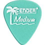 Palheta California Clear Media Verde Fender