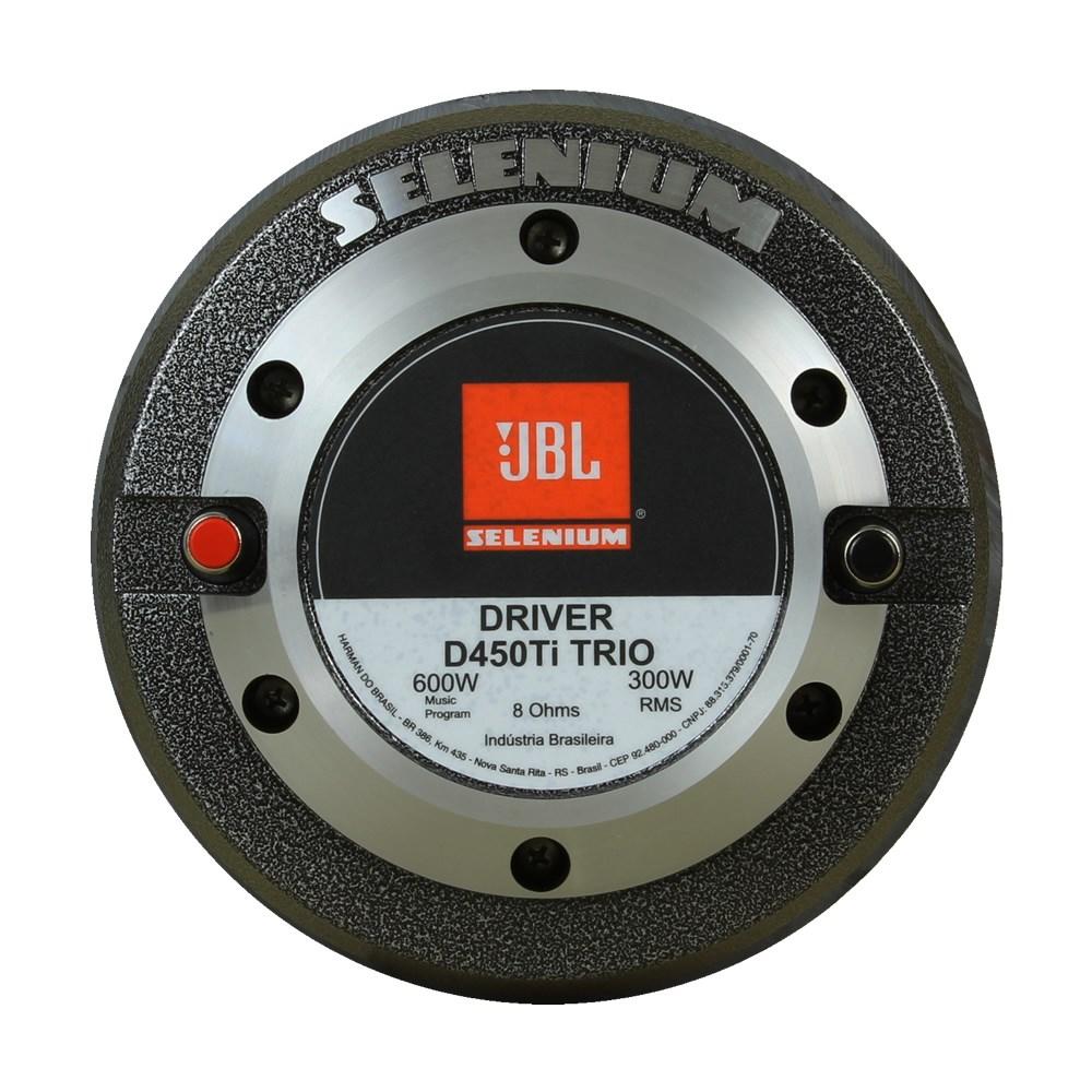 Driver JBL Selenium D450 Ti Trio Titânio - 300 Watts RMS