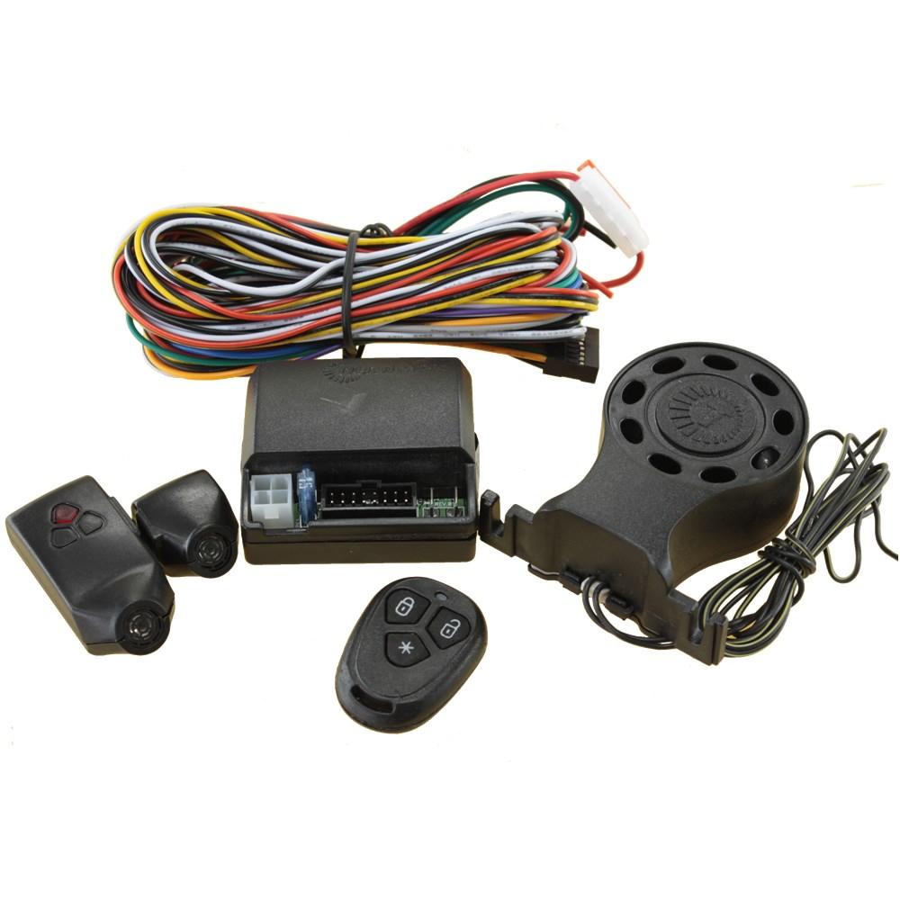 Alarme Carro Automotivo Taramps TW 20 Desliga Som Bloqueador Resgate - 1 Controle
