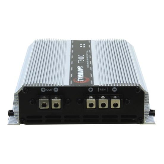Módulo Amplificador Digital Taramps T500D 1 Canal 500 Watts RMS - Impedância: 1 Ohm
