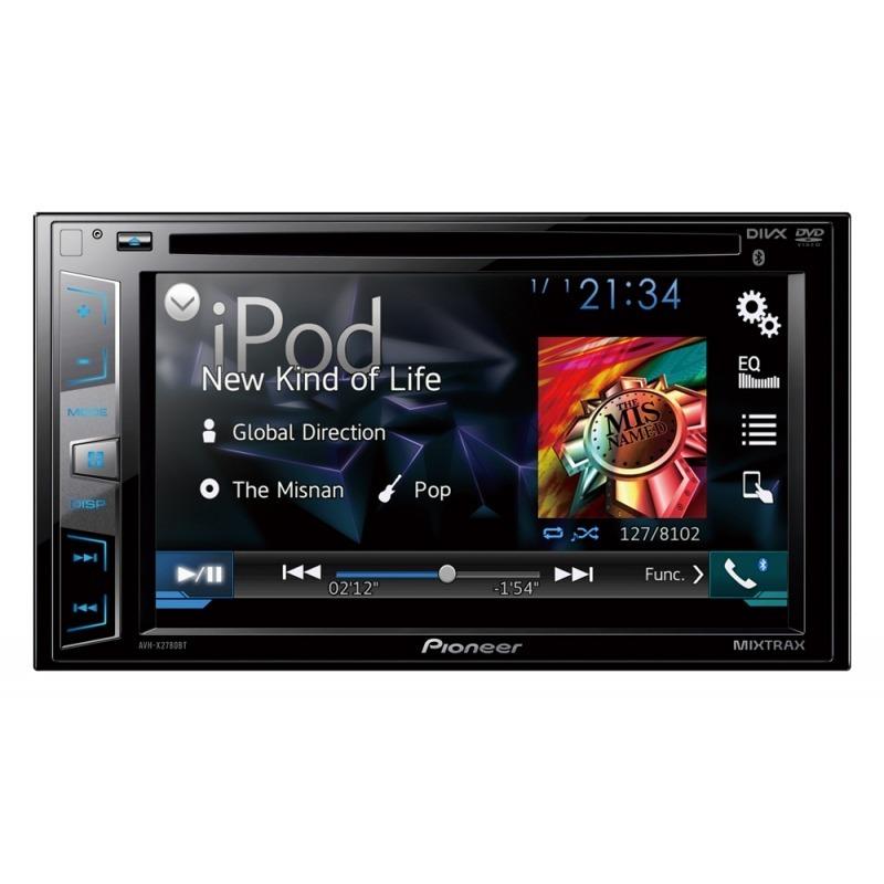 Dvd Player Automotivo Pioneer Avh-x2780bt + Camera de Ré Bluetooth 2din Mixtrax