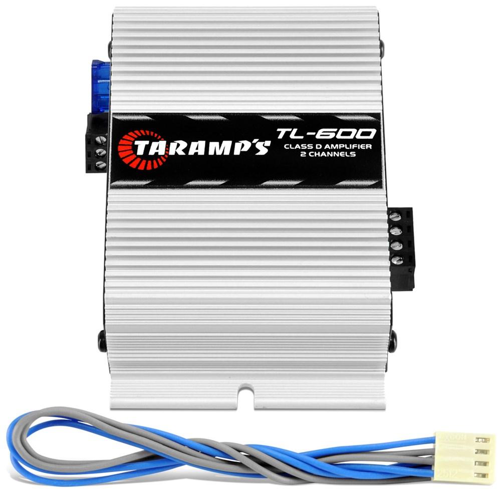Módulo Taramps Tl 600 170w Rms 2 Canais 2 Ohms Amplificador