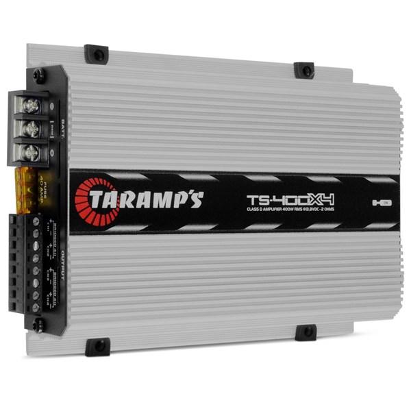 Módulo Amplificador Automotivo Taramps TS400 X4 400 Watts RMS 2 Ohms