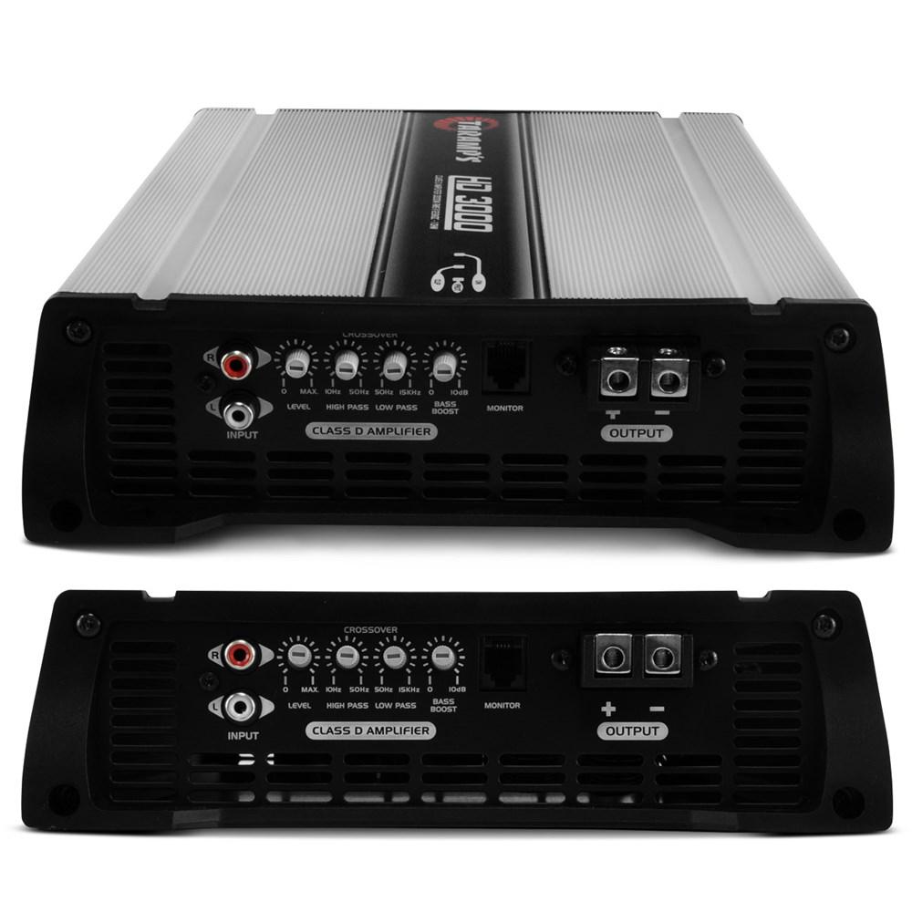 Módulo Taramps Hd 3000- 3000w Rms 1 Canal 1 Ohm Amplificador
