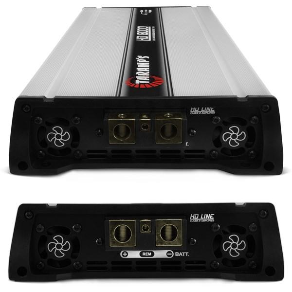 Módulo Amplificador Taramps Hd8000 8000w Rms 2 Ohms 1 Canal