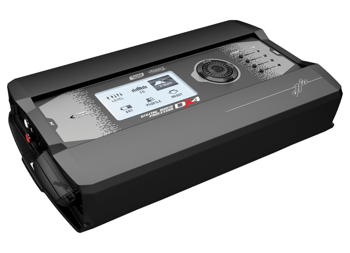 Processador de Áudio Digital JFA DX4 4 Saídas Estéreo