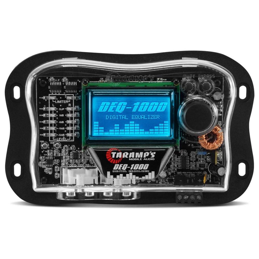 Equalizador Taramps Deq-1000 Gráfico Digital Lcd 15 Bandas Automotivo