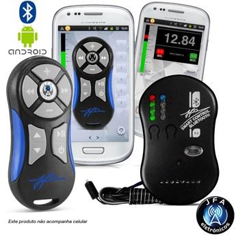 Controle Jfa Smart Control Via Smartphone Bluethooth Azul