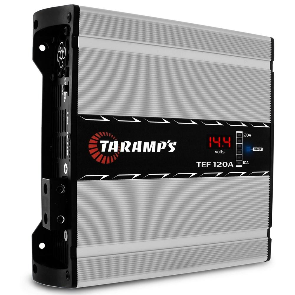Fonte Carregador de Bateria Automotiva Taramp's TEF 120 Amperes