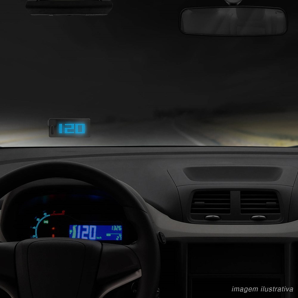 Computador de Bordo JFA HUD – Head Up Display com Unidade Projetora