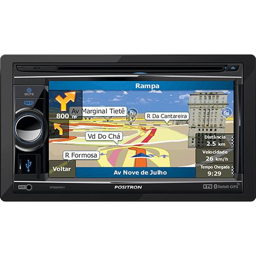 Dvd Player Autmotivo Multimidia Positron SP8960 Touch Screen GPS TV Digital USB Bluetooth