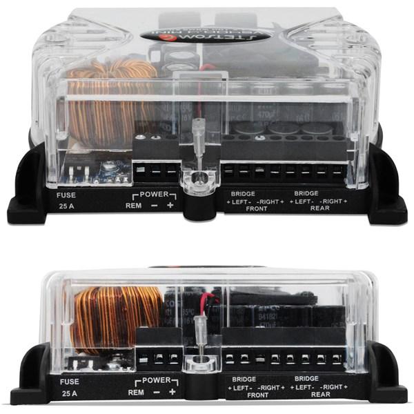 Módulo Amplificador Stetsom VS 400.4 Mini 400W RMS 2 Ohms