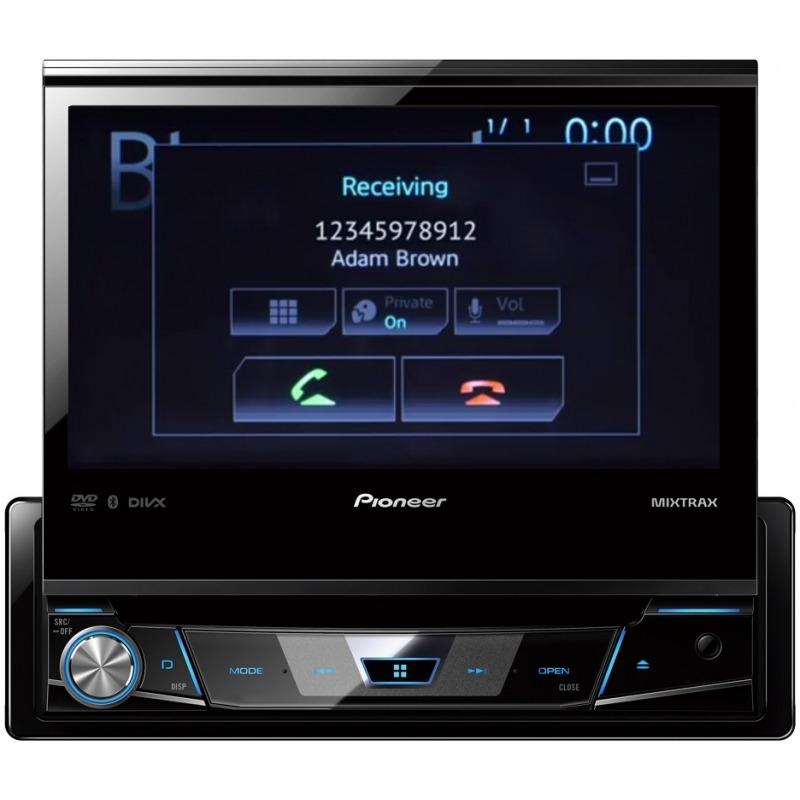 Dvd Player Retrátil Automotivo Pioneer Avh-7780tv Touch Screen Bluetooth Tv Digital