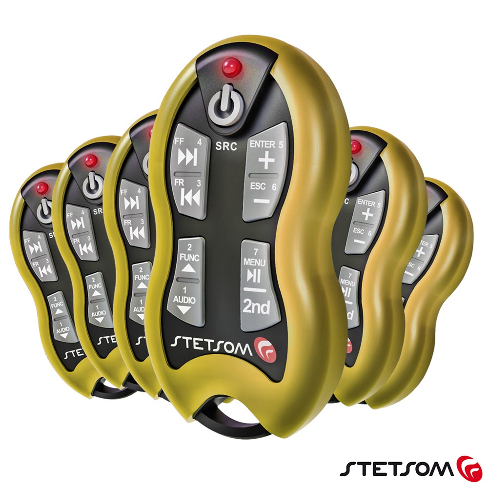 Controle Longa Distância Stetsom SX-2 500 Metros Amarelo Alcance Control